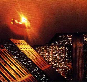 Blade Runner sky