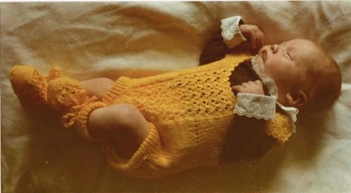 En nyfödd Fredrik F. G. Granlund