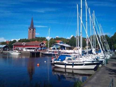 Mariestads gästhamn. Fotografi av Fredrik F. G. Granlund
